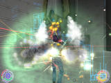 Oni Windows Konoko's first boss 'battle' against the Deadly Brain