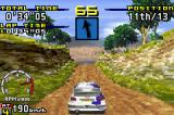 Sega Rally Championship Game Boy Advance Alone in the road