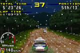 Sega Rally Championship Game Boy Advance A different time and weather settings