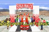Sega Rally Championship Game Boy Advance Finishing first in Championship mode