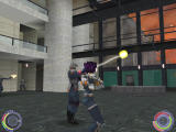 Oni Windows TCTF agents help Konoko in a firefight with Syndicate Strikers