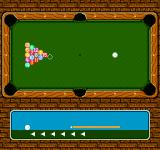 Break Time: The National Pool Tour NES The shot power meter