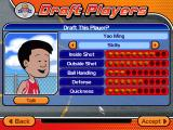 Backyard Basketball 2004 Windows and real players such as Yao Ming.