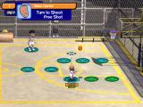 Backyard Basketball 2004 Windows Vince Carter and Yao Ming play a little 21.