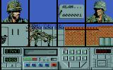 Combat Course Atari ST The title screen plays out move demonstrations. Here's a high kick