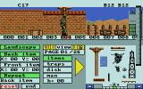 Combat Course Atari ST The editor