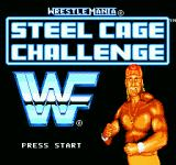 WWF Wrestlemania: Steel Cage Challenge NES Title screen