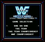 WWF Wrestlemania: Steel Cage Challenge NES Type of wresting mode