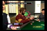 World Championship Poker PlayStation 2 Players can get overly excited when a pot is won.