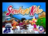 Snowboard Kids Nintendo 64 Title screen