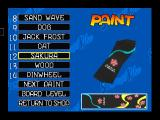 Snowboard Kids Nintendo 64 Painting the board.