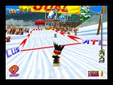 Snowboard Kids Nintendo 64 Close to the finish line