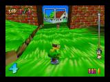 Snowboard Kids Nintendo 64 Tommy on the Grass Valley course