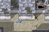 Lara Croft: Tomb Raider - The Prophecy Game Boy Advance Shooting the wolfs while jumping backwards...