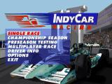 IndyCar Racing II DOS Main Menu