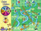 Chutes and Ladders Windows Classic board