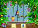 Chutes and Ladders Windows A feed-the-jungle-bird minigame