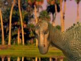 Disney's Dinosaur Activity Center Windows Intro - Aladar the iguanadon and a lemur friend, from the Disney movie
