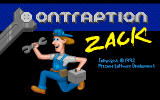 Contraption Zack DOS Title Screen