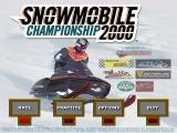 Snowmobile Championship 2000 Windows Title screen