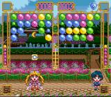 Bishōjo Senshi Sailor Moon Super S: Fuwa Fuwa Panic SNES Destroying groups of balloons can reveal power-ups