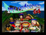 Pilotwings 64 Nintendo 64 Title Screen