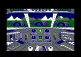 Infiltrator Amstrad CPC A view from the cockpit.