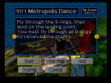 Pilotwings 64 Nintendo 64 Test Instructions