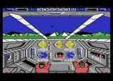 Infiltrator Atari 8-bit There is a jet.