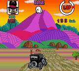 Wacky Races Game Boy Color Turning as The Ant Hill Mob in the Bulletproof Bomb 07.