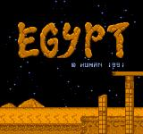 Egypt NES Title Screen