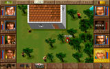 Jagged Alliance DOS Aiming weapons.