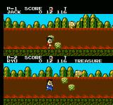 Little Ninja Brothers NES Find the treasure in the treasure event.