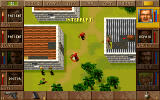 Jagged Alliance DOS As your soldier of fortune has some action points left, he can interrupt the enemies' turn.
