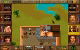 Jagged Alliance DOS Picking a lock.