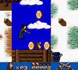 Gold and Glory: The Road to El Dorado Game Boy Color Jumping and using Cutlass...