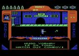 Gunfighter Atari 8-bit Hugo Yorway (You go your way) is in town. This means trouble.