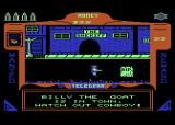 Gunfighter Atari 8-bit Billy the Goat (a play on Billy the Kid) is in town, Sheriff, and he's got it in for you!