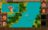 Jagged Alliance DOS Death by drowning.