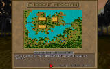 Jagged Alliance: Deadly Games DOS Mission briefing and map.