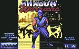Ninja Gaiden Commodore 64 Title screen