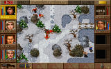 Jagged Alliance: Deadly Games DOS ...frozen landscapes...