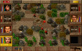 Jagged Alliance: Deadly Games DOS ...and a rocky desert.