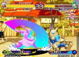 Waku Waku 7 Neo Geo In an attempt to hit Politank Z during his recovering, Slash performs his ES Attack Slash Barrier...
