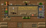 Jagged Alliance: Deadly Games DOS You can combine items to improve your equipment.