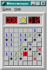 Minesweeper Windows I'm dead. (Windows ME)