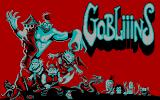 Gobliiins DOS Title screen (CGA)
