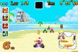 Mario Kart Super Circuit Game Boy Advance Collect golden coins during the race to increase the maximum speed of your kart.