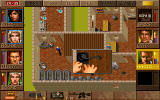 Jagged Alliance: Deadly Games DOS Locked door, no key? Lockpicks will do the job.