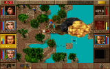 Jagged Alliance: Deadly Games DOS A bridge explodes.
